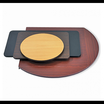T Series Laminate T-mold Edge Reversible Table Top