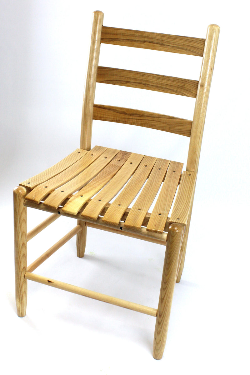 Natural Boone chair w/ slat seat