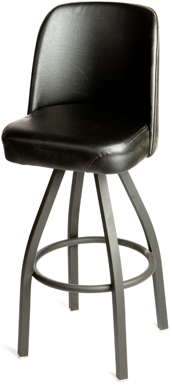 Bucket Counter Height Swivel Barstool