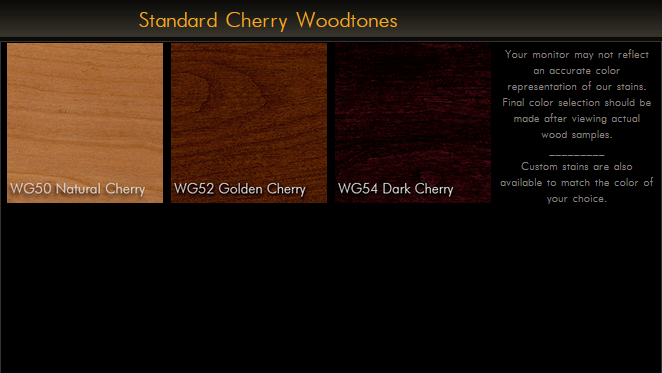 2900 Series Traditional Cherry Plank Table Top