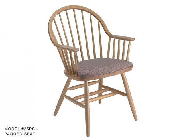 Windsor Arm Chair with Hoop Back and Spindles, MD25