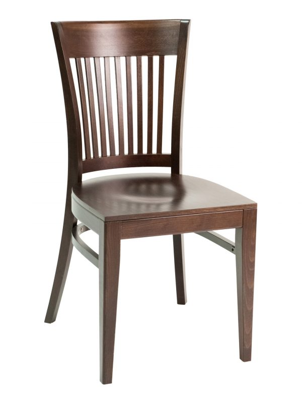 Beechwood Slat Back Chair, FLSCON915S