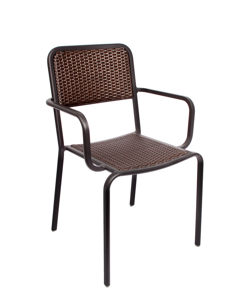 Rio Outdoor Stacking Aluminum Armchair, DV353