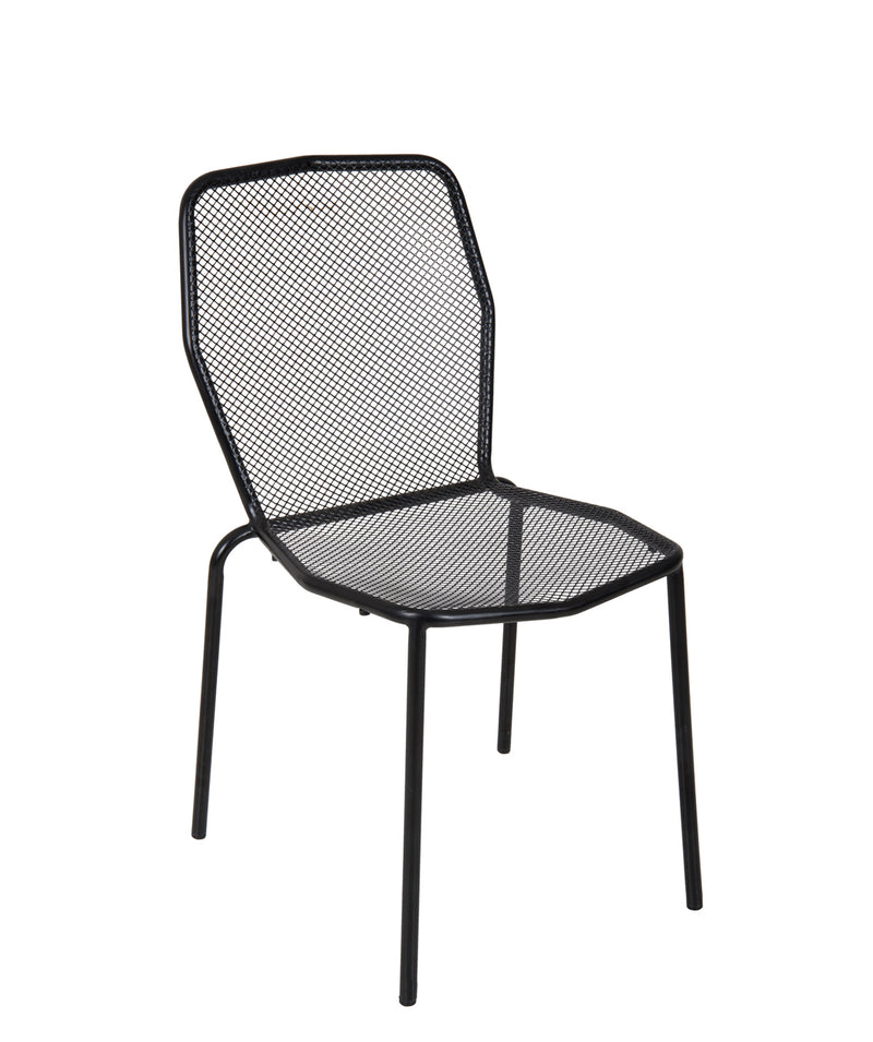 Avalon Stacking Outdoor Sidechair, DV454BL