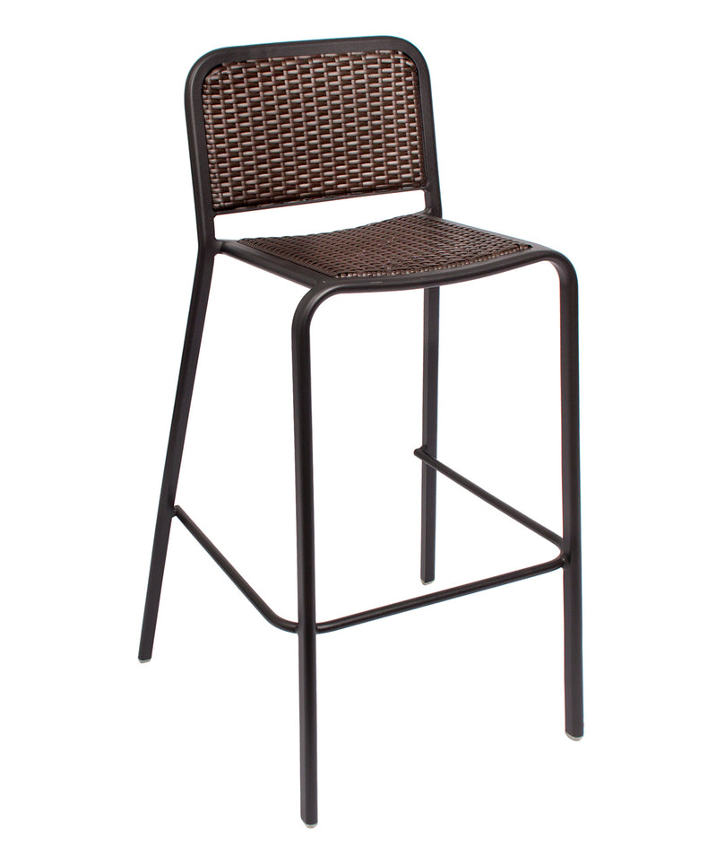 Rio Outdoor Stacking Aluminum Barstool, DV553