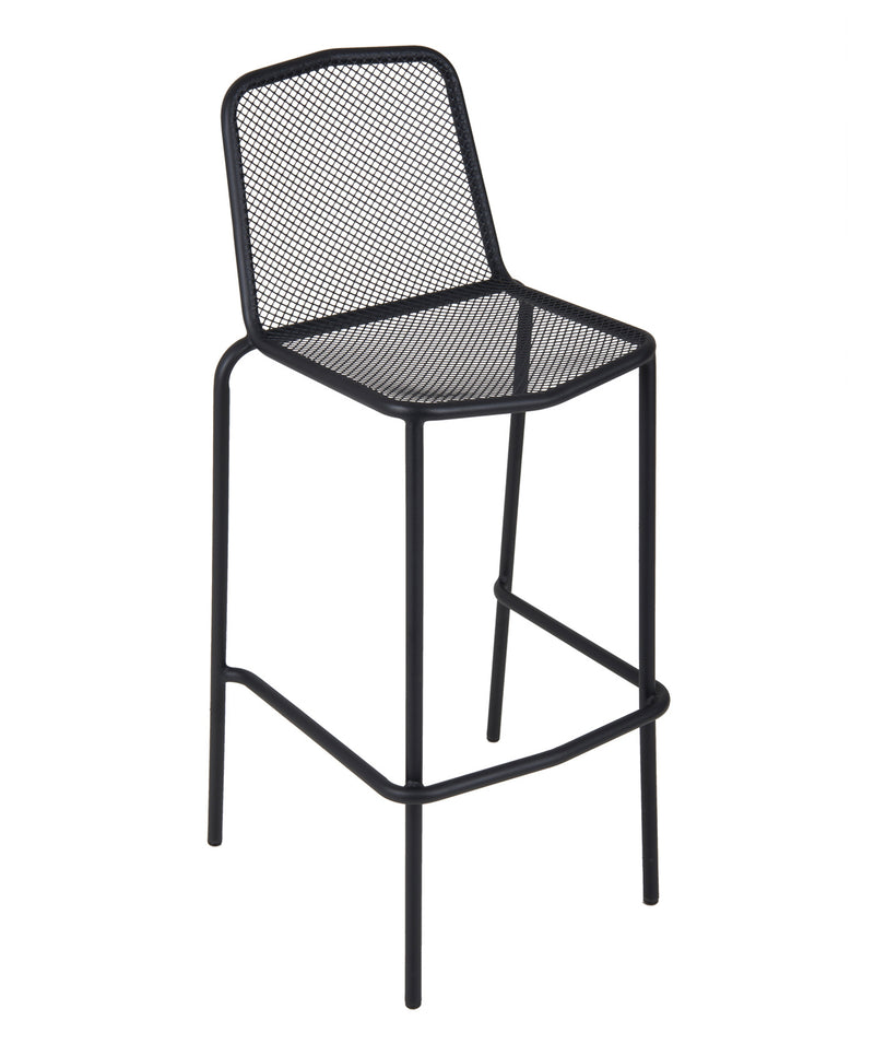Avalon Stacking Outdoor Barstool, DV554BL