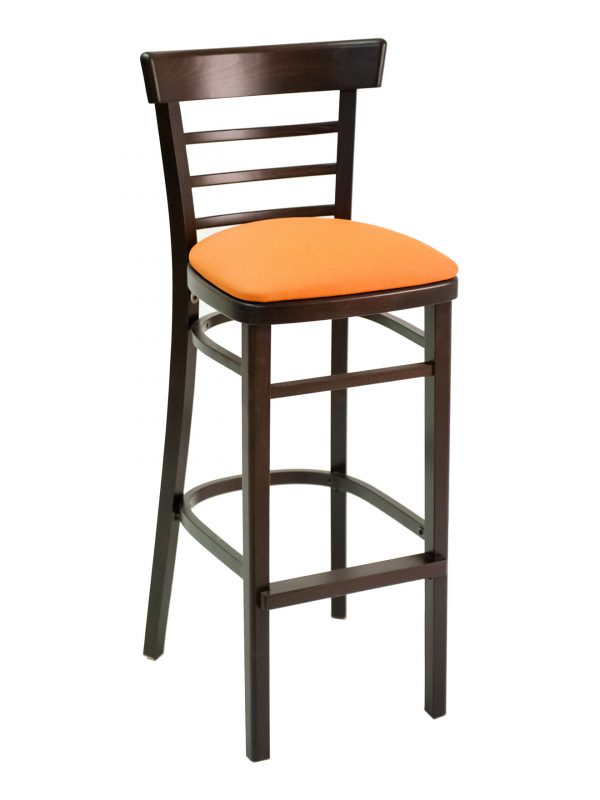 Beechwood Barstool with Ladder Back, FLSECO05B