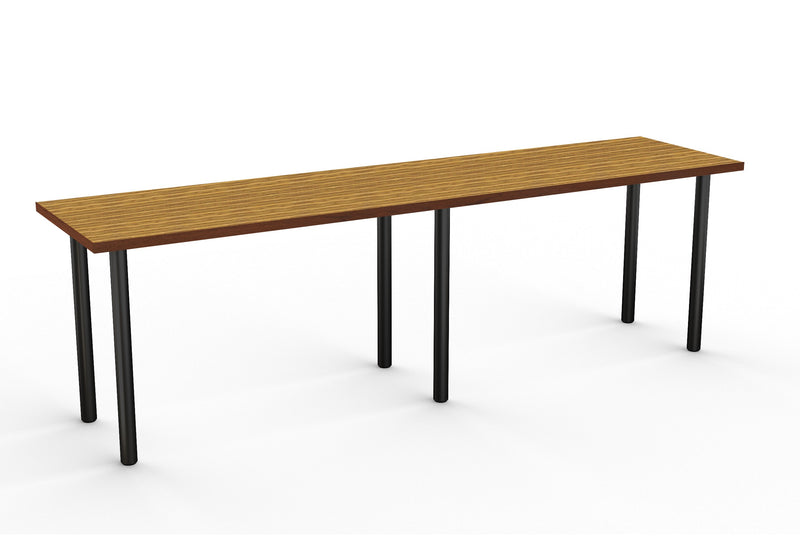 Ella Series Laminate Table with Metal Legs