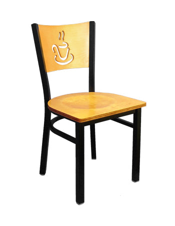 Coffee Cup Metal Chair, ERF-167