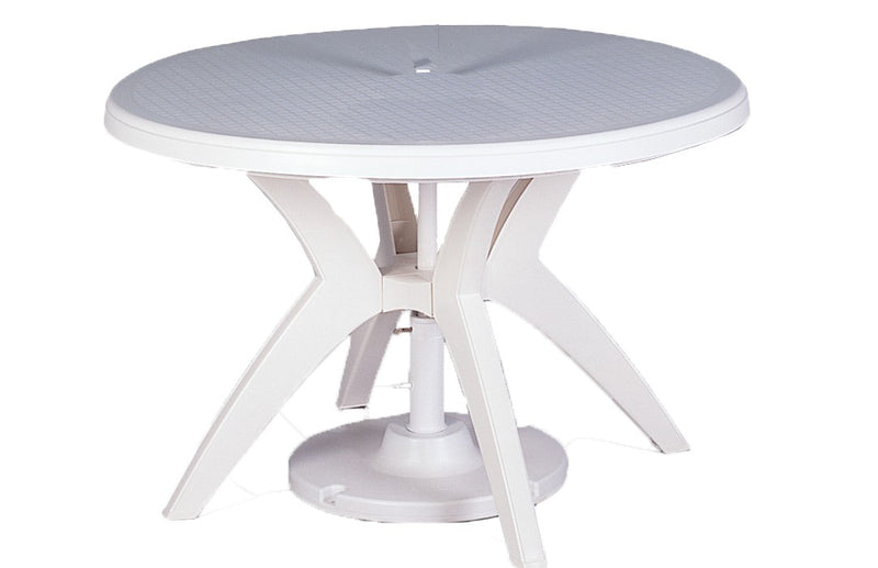 "Ibiza 46"" Round Table With Umbrella Hole"