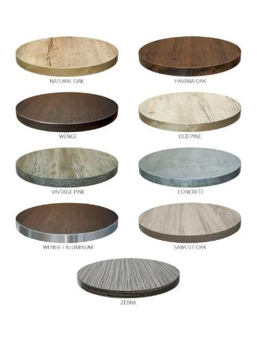 Indoor Lightweight Durable Honeycomb Core Melamine Table Tops, FLSMRCOTP