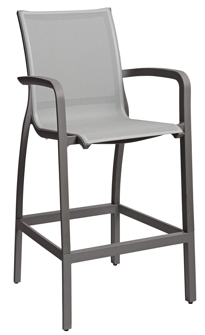 Sunset Outdoor Barstool w/ Footrest