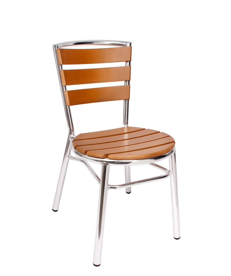 Norden Outdoor Stacking Side Chair, MS3084STK