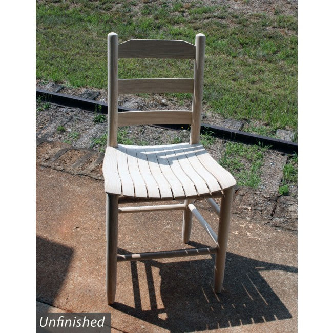 Beach Mountain Chair with Curved Slat Woven Seat