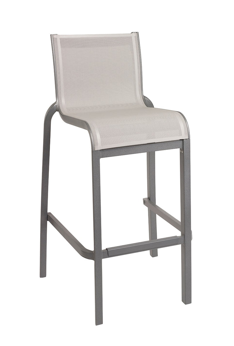 Sunset Armless Stackable Outdoor Barstool