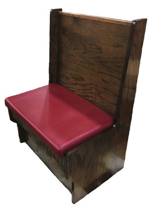 Shepard Wooden Panels Booth