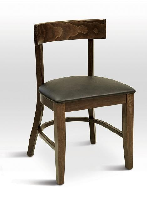 Beechwood Solid Quarter Back Chair, FLS09S