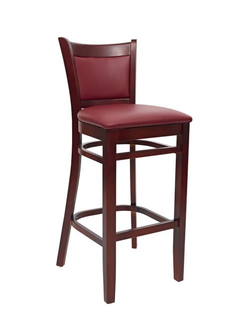 1-E1093BSRFD Wood Bar Stool
