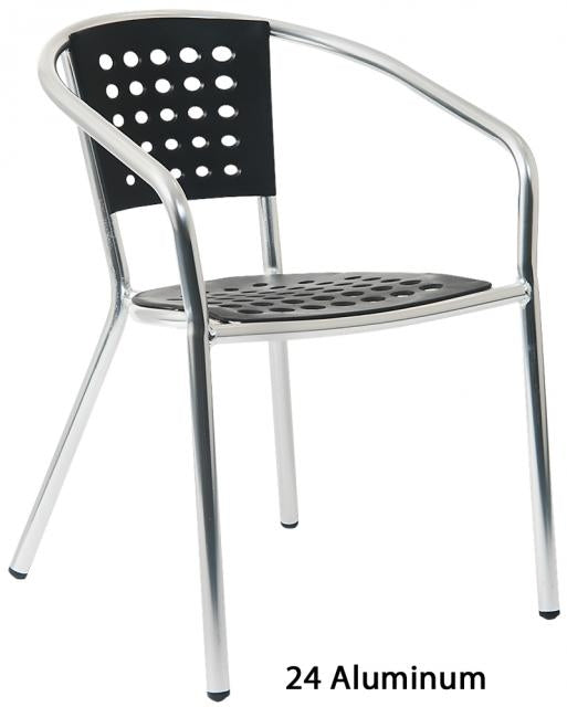 E24 Aluminum Arm Chair