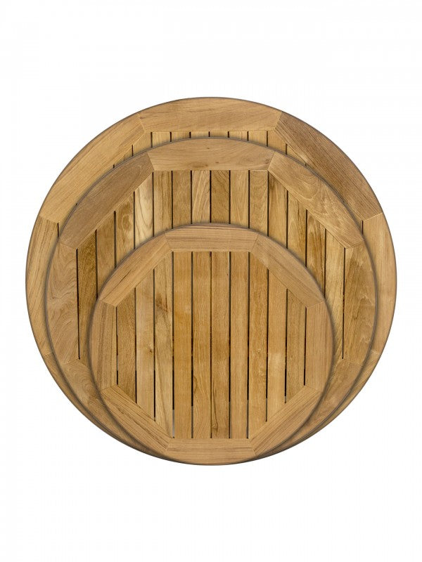 RFD Series Round Teak Outdoor Table Top