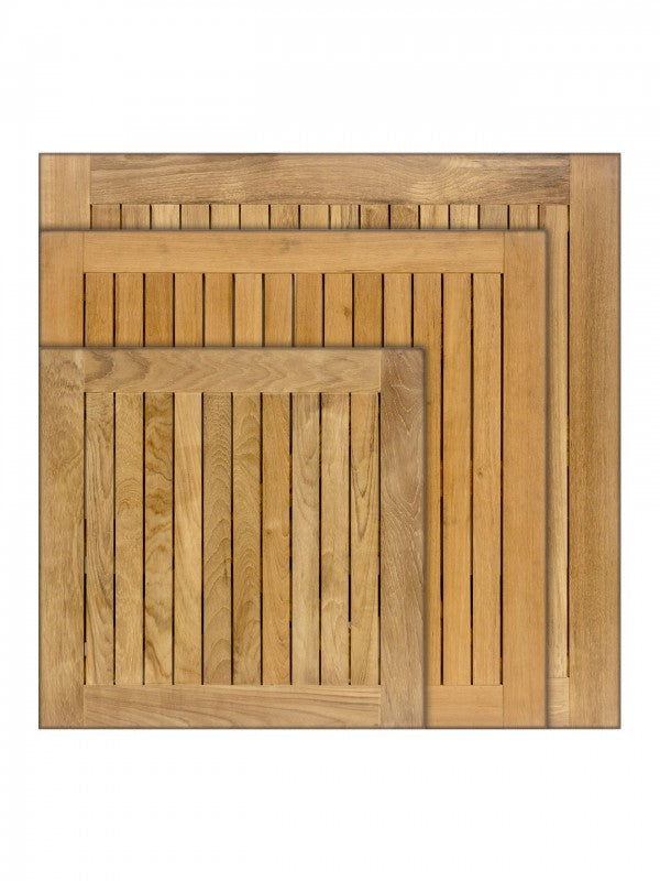 RFD Series Outdoor Square & Rectangular Teak Table Top