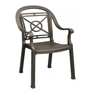 Victoria Classic Stacking Armchair Bronze