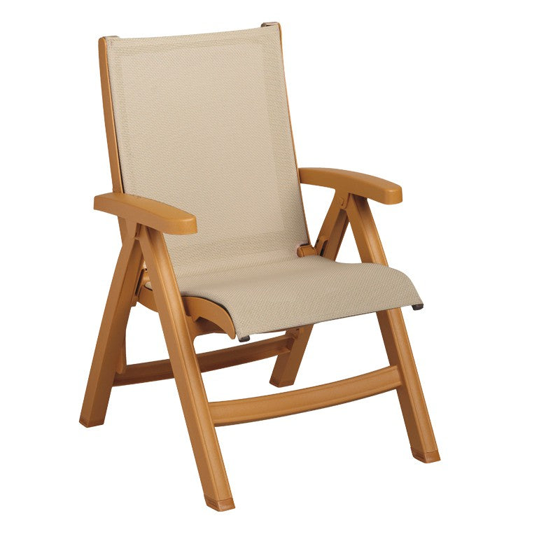 Belize Midback Folding Sling Chair