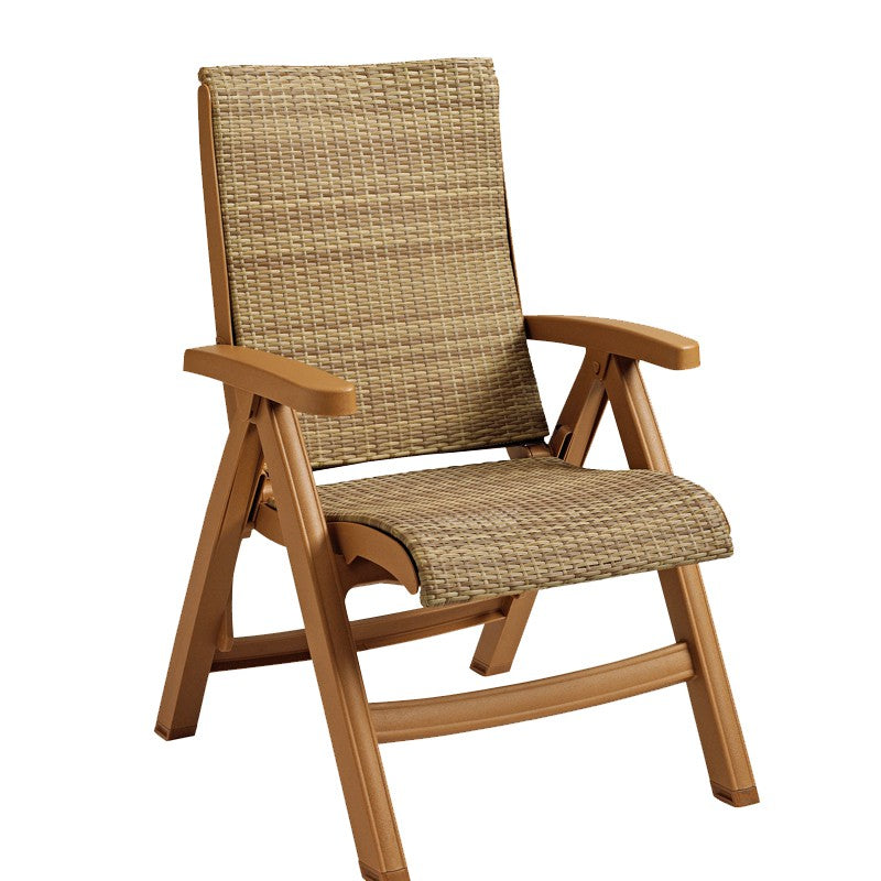 Java All-Weather Wicker Deck Chair