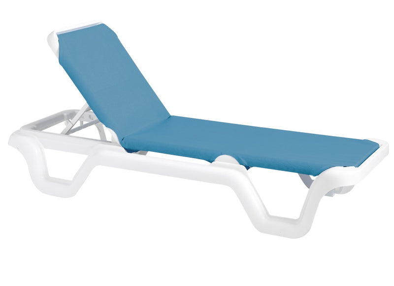 Marina Adjustable Sling Chaise Chair
