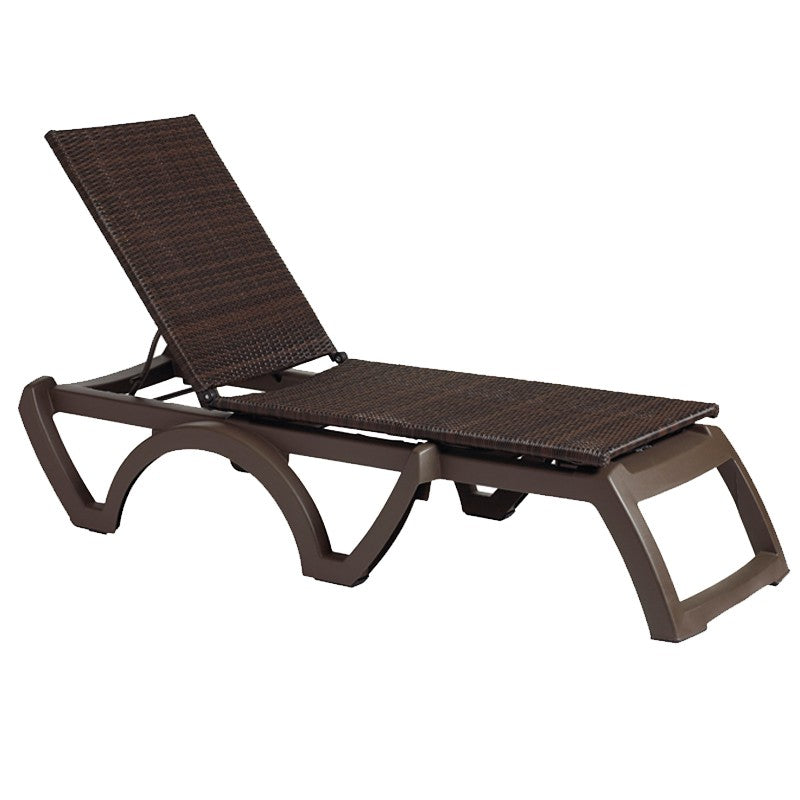 Java All Weather Wicker Chaise