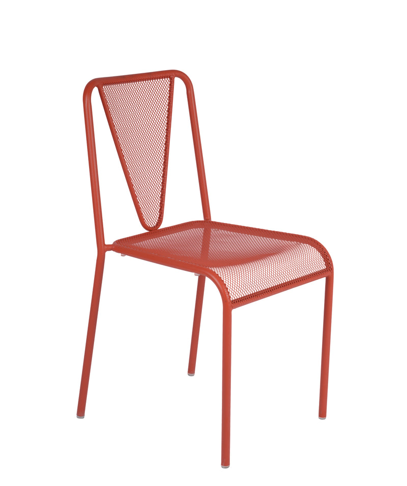 Venice Beach Stacking Outdoor Sidechair, DV455