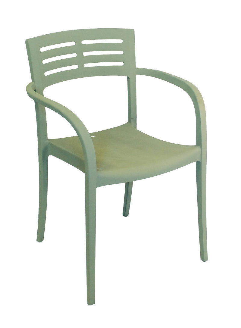 Vogue Armchair w/ Half Ladder Back