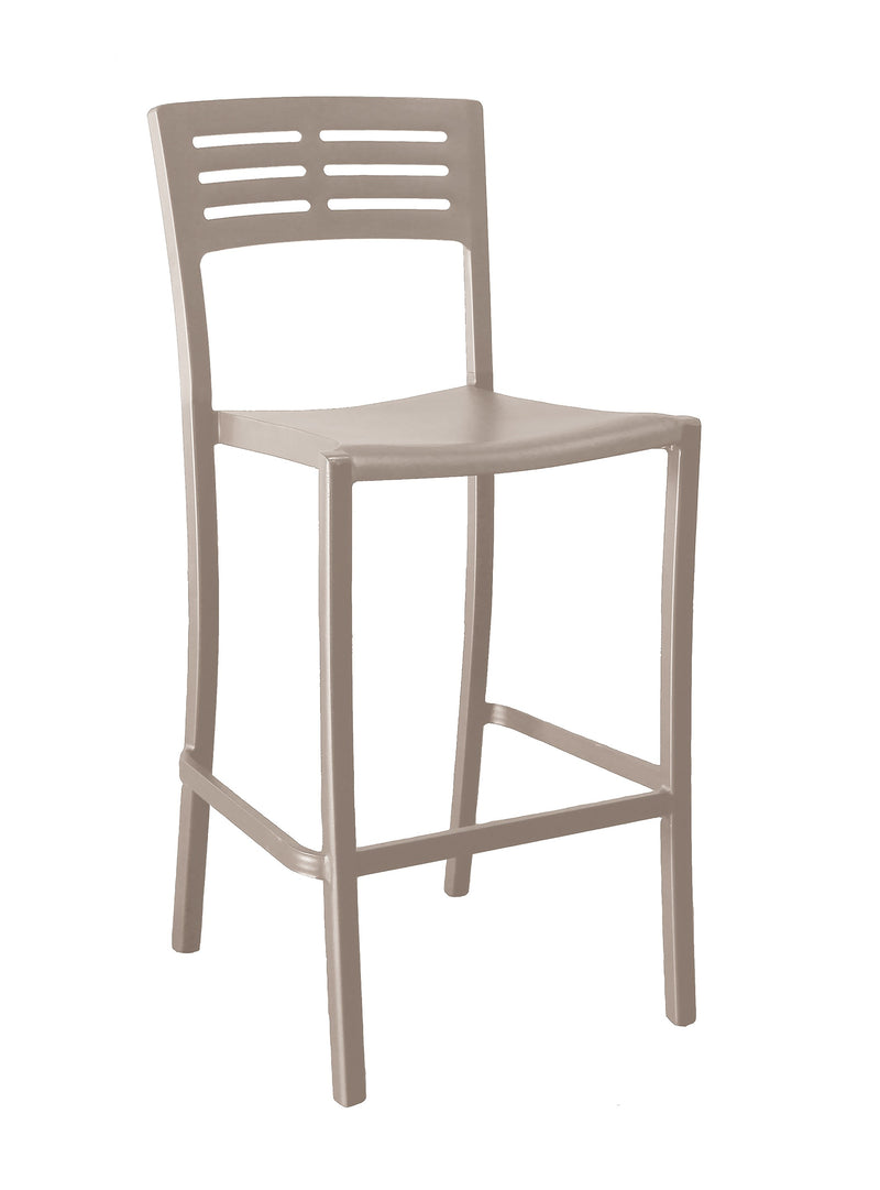 Vogue Barstool w/ Half Ladder Back