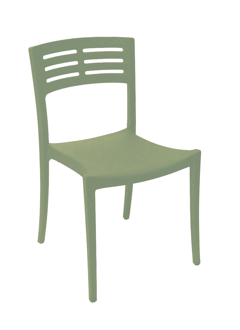Vogue Sidechair w/ Half Ladder Back