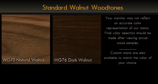 3000RP Series Rustic Walnut Plank Table Top