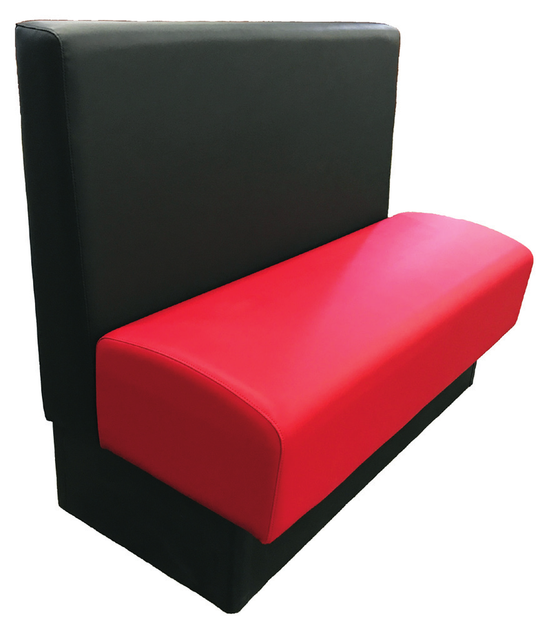 Wartburg Updated Pillow Back Booth