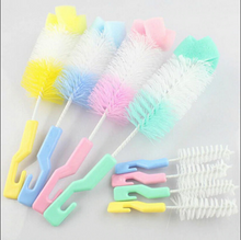 Milk Bottle Cleaner + Pacifier Brush 2 Pcs