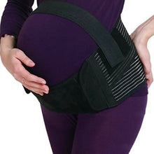 Maternity Belly Support Belt in black