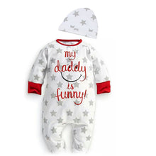 3-18M Cute Baby Clothing Bodysuit + Hat - Baby-Treasure - Everything all about Pregnant and Babys
