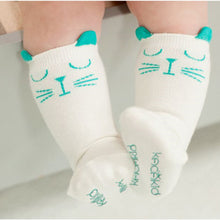 6-24M Cute Cartoon Cat Knee High Socks - Baby-Treasure - Everything all about Pregnant and Babys