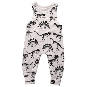 0-18M Baby Dinosaur Jumpsuit - Baby-Treasure - Everything all about Pregnant and Babys