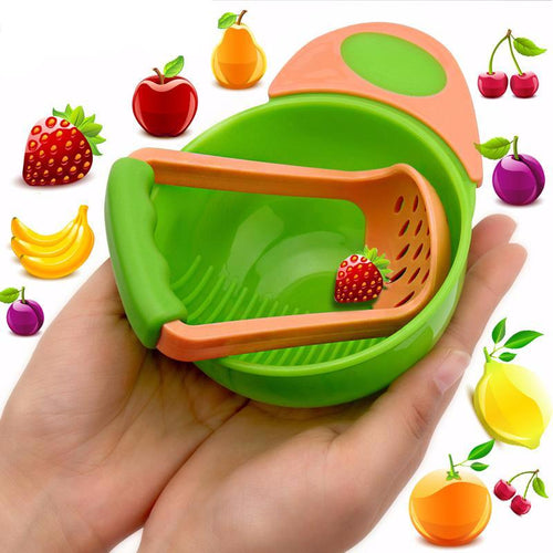 Baby Dinnerware Food Grinder - Baby-Treasure - Everything all about Pregnant and Babys