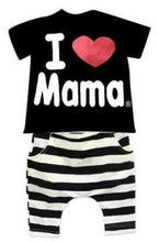 2-6Y Baby Short Sleeve T-shirt + Pants - Baby-Treasure - Everything all about Pregnant and Babys