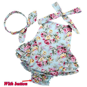6-24M Baby Summer Wear Jumpsuits - Baby-Treasure - Everything all about Pregnant and Babys