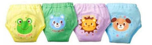 4 X Baby Toddler Girls Cute 4 Layers Potty Training Pants reusable - Baby-Treasure - Everything all about Pregnant and Babys