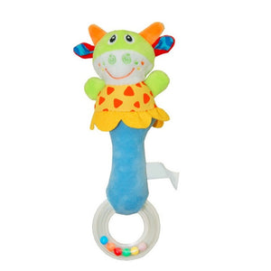 0-36M Cute Plush Baby Rattle - Baby-Treasure - Everything all about Pregnant and Babys