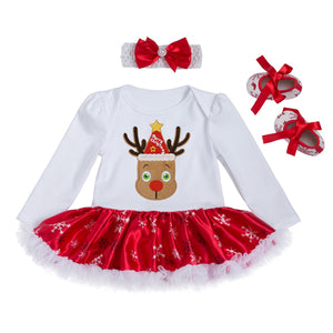 0-24M Baby Christmas Dress Set - Baby-Treasure - Everything all about Pregnant and Babys