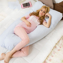 Comfortable Blue Pregnancy Pillow