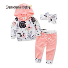6-24M Trendy Baby Girl Clothing Set - Baby-Treasure - Everything all about Pregnant and Babys