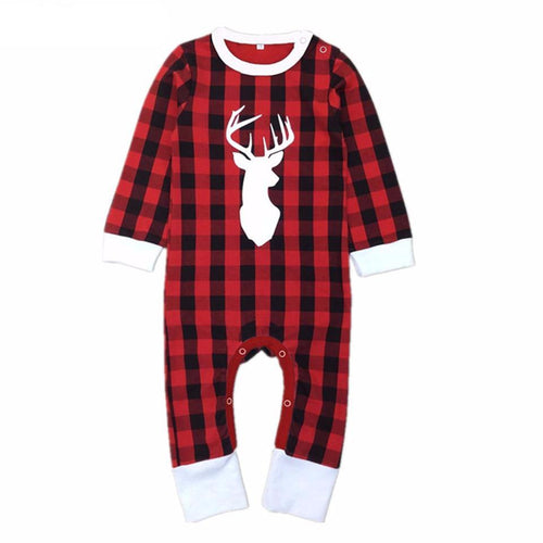 0-5Y Baby Girls Boys Christmas Reindeer Romper - Baby-Treasure - Everything all about Pregnant and Babys